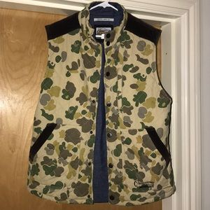 Multi color camo vest